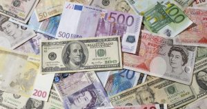 Money in different currencies