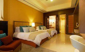 Third bedroom has 2 beds